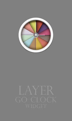 Layer - Clock Widget
