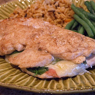 Gruyere, Arugula and Prosciutto-Stuffed Chicken Breasts