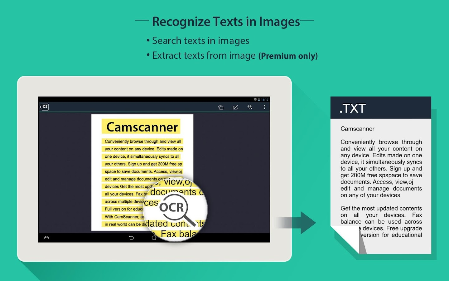 CamScanner -Phone PDF Creator - screenshot