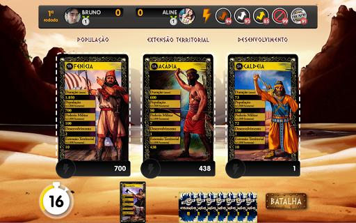 Super Trunfo Battle Cards screenshot