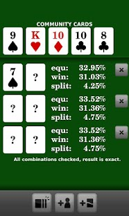 Poker Calculator - screenshot thumbnail
