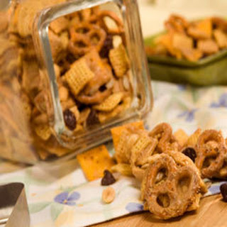 Peanut Butter Snack Mix.