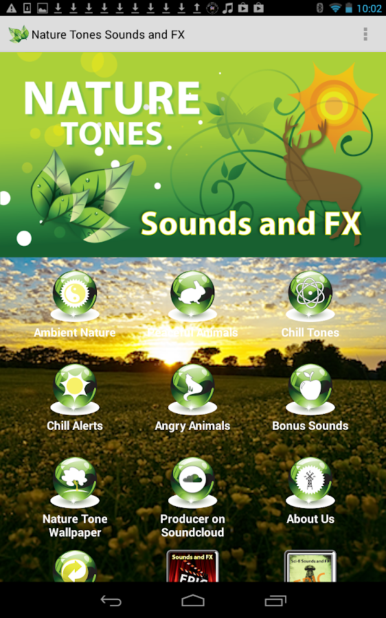 Epic Nature Tones Sounds & FX- screenshot