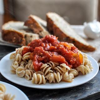 Favorite Crockpot Tomato Sauce.