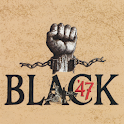 Black 47 logo