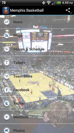 University Memphis Basketball