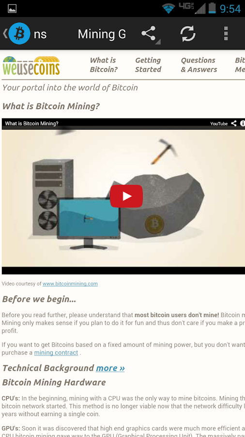 Bitcoin Buzz Feeds- screenshot