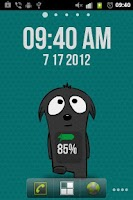 Screenshot of Jebby Battery & Clock LW