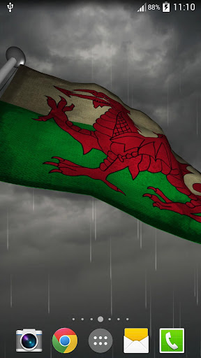 玩個人化App|Welsh Flag + LWP免費|APP試玩
