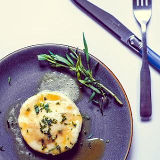 Egg Yolk Ravioli (uova Di Raviolo) In Brown Butter Tarragon Sauce