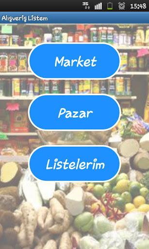 Alışveriş Listem