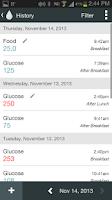 Screenshot of OnTrack Diabetes