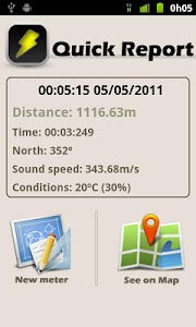 Storm Meter Lite screenshot 2