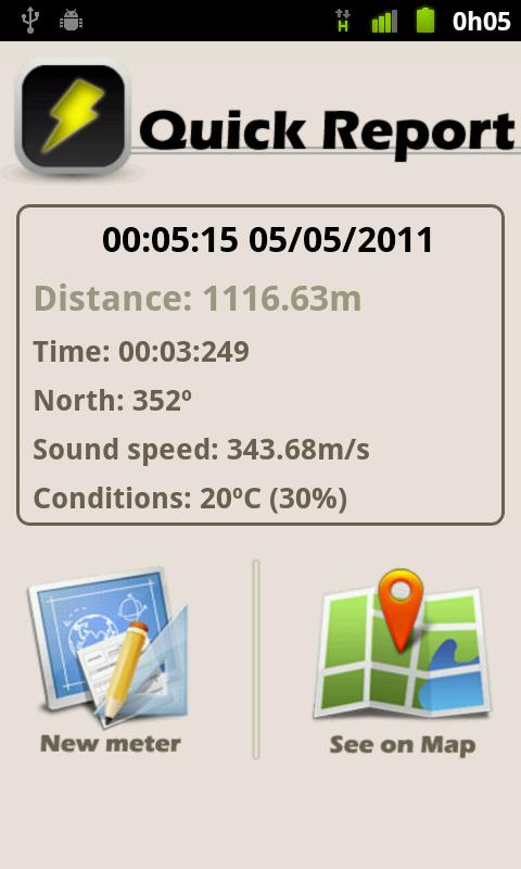 Storm Meter Lite - screenshot
