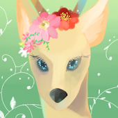 Formosan deer Atom theme