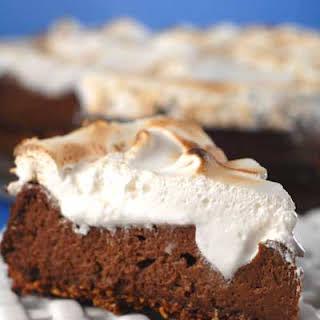 Gluten Free S'mores Cheesecake.