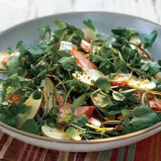 Trout, Watercress and Apple Salad.