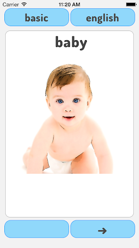 Baby's First Words Flashcards