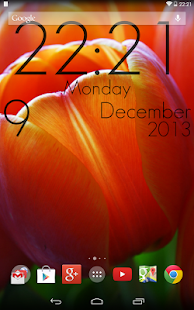 Super Clock Wallpaper Free - screenshot thumbnail