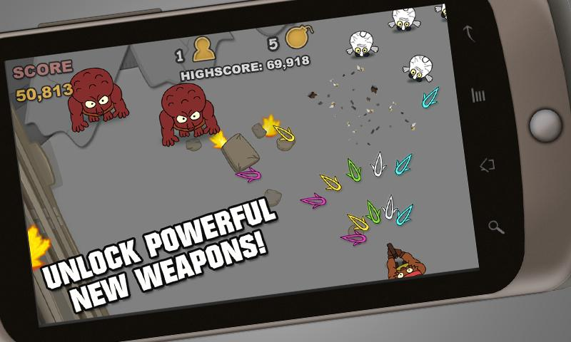 Sharks Vs Zombies - Free!- screenshot