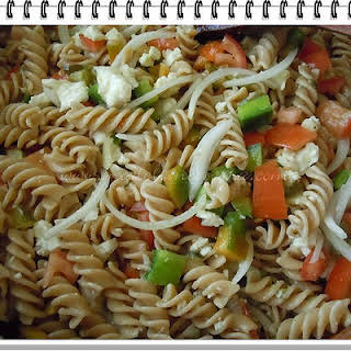 Whole Wheat Pasta Salad.