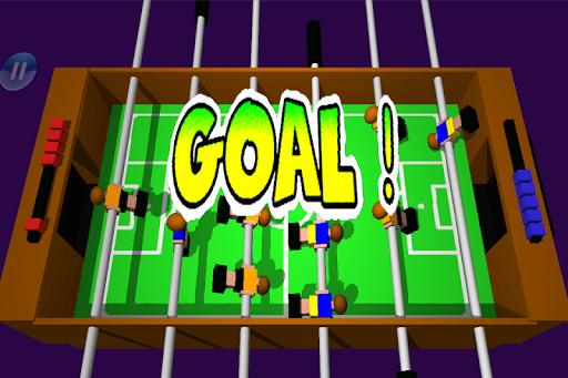 Table Football, Soccer 3D  screenshots 3