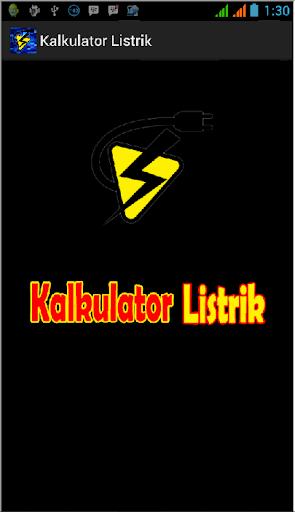 Kalkulator Listrik