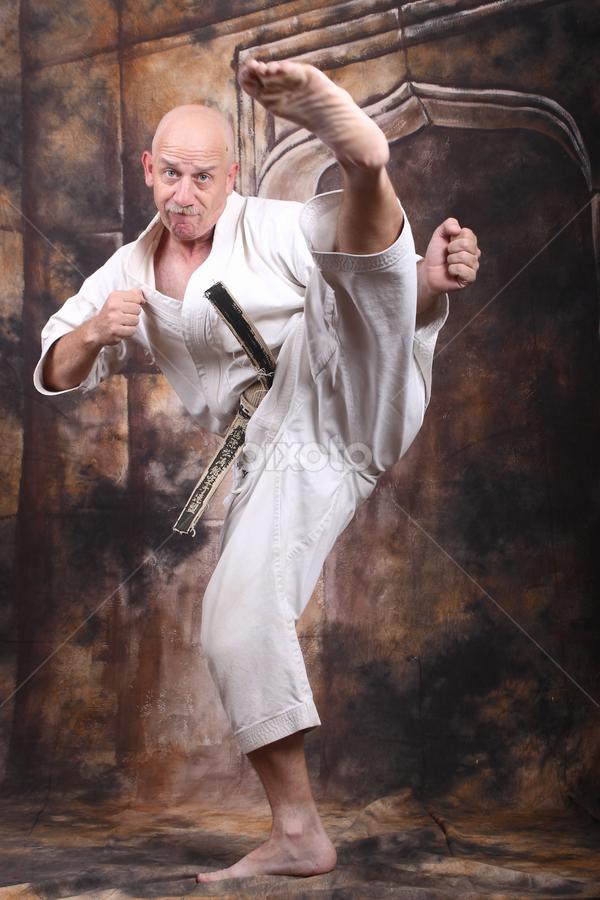 Karate man by Pablo Barilari - Sports & Fitness Other Sports ( kicking, shotokan, karate ka, karate )