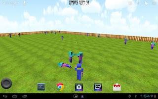 Screenshot of Cop vs Zombies Live Wallpaper