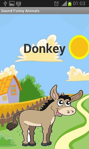 sound funny animals  app