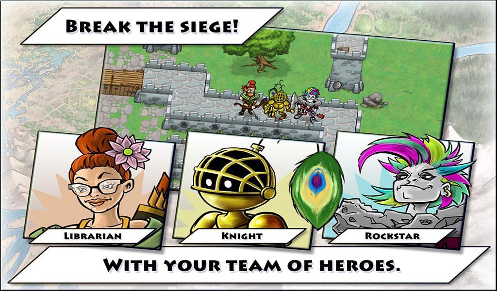 Siegebreaker: castle defense - screenshot