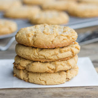 Brown Butter Peanut Butter Cookies.