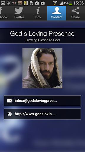 God's Loving Presence
