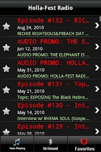 Holla-Fest Radio - screenshot thumbnail