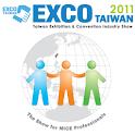 EXCO Taiwan 2011 logo