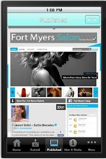 Fort Myers Salon - screenshot thumbnail