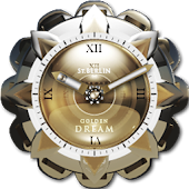 Golden Dream Clock Widget