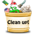 Clean Up! logo