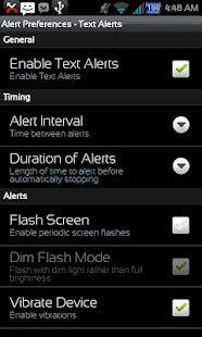 Missed Message Alerts - FOSS - screenshot thumbnail