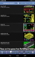 Screenshot of Speccy - ZX Spectrum Emulator