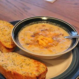 Potato and Cheddar Soup.
