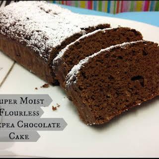 Super Moist Flourless Chickpea Chocolate Cake.