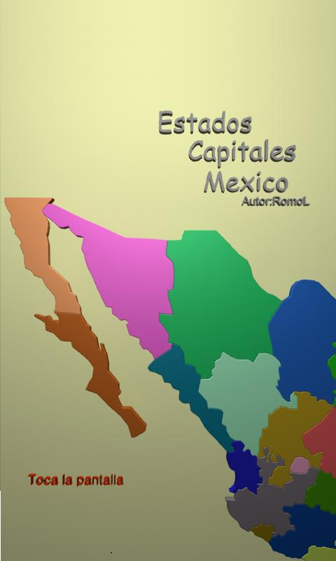 Estados y Capitales de Mexico - screenshot