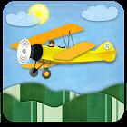 Biplane Day-Night Seasons LWP icon
