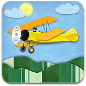 Biplane Day-Night Seasons LWP