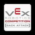 VEX Sack Attack logo