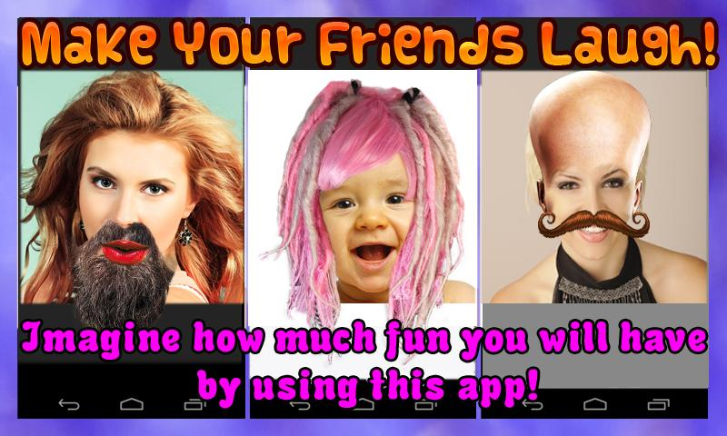 Fun Face Changer Extreme Free - screenshot