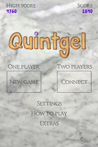 Quintgel- screenshot