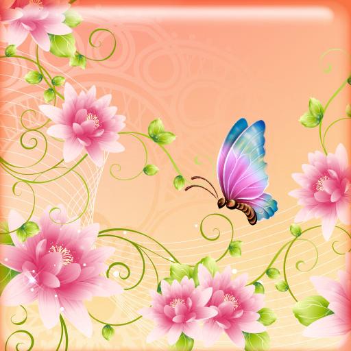 蝴蝶动态壁纸 個人化 App LOGO-硬是要APP