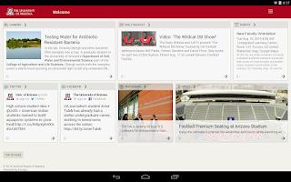 Screenshot of Arizona Mobile